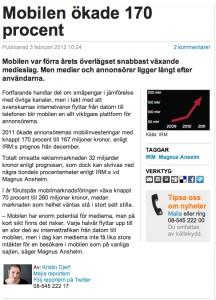 Dagens Media rabble